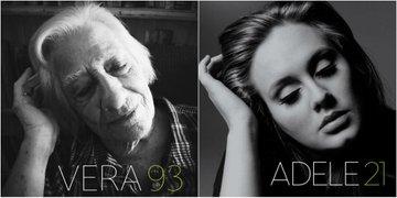 Des personnes âgées s'amusent à imiter des chanteurs célèbres