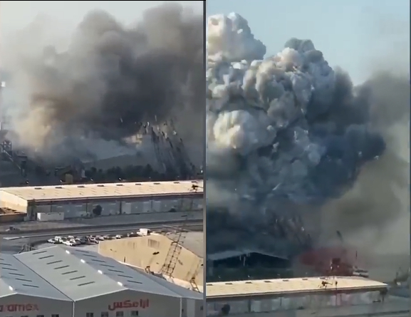 Les images les plus proches jusqu'à présent de l'explosion de Beyrouth au Liban