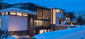 Une maison luxueuse et ultra-moderne au ski pour la modique somme de 45 millions de dollars dans les Rocheuses du Colorado