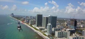 Floride : un hélicoptère et un drone ont failli se percuter dans les airs