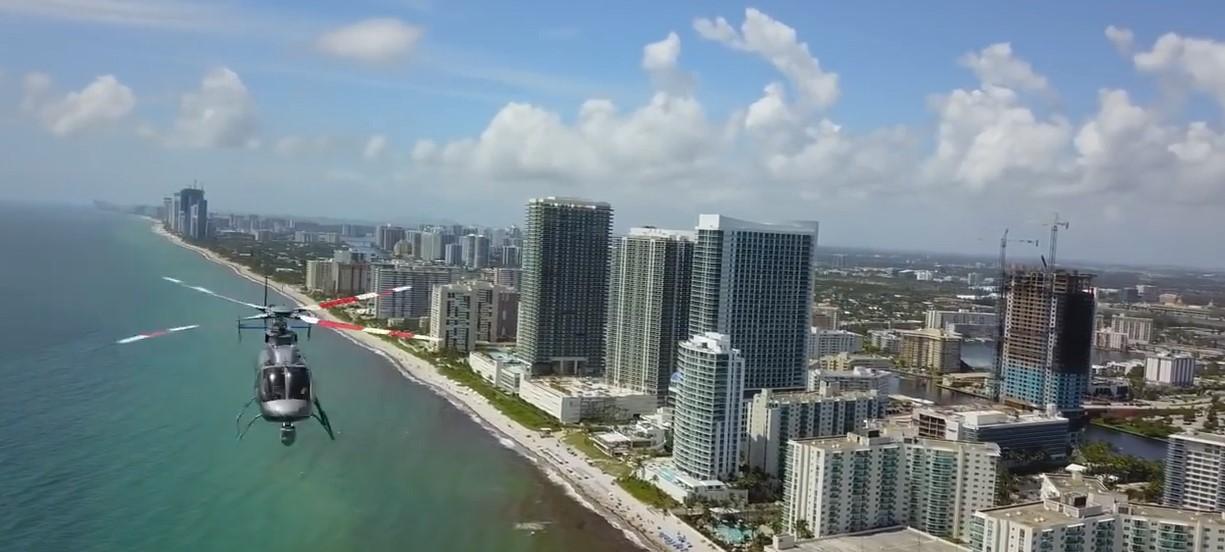 Floride, un hélicoptère et un drone ont failli créer un accident