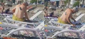 Vidéo amusante : cet homme peine à trouver son téléphone qui est collé dans son dos !
