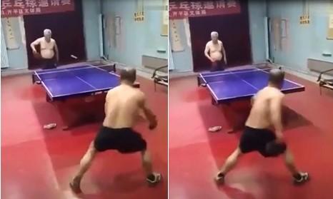 Ping-pong : pas besoin d'être en forme pour gagner des points, seule la technique compte