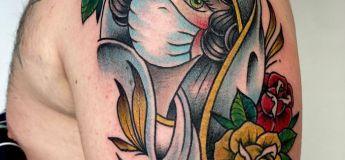 Covid-19 : 50 tatouages qui ont été imaginé et réalisé après la crise sanitaire