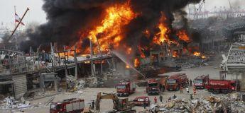 Un nouvel incendie important s'est déclaré dans le port de Beyrouth