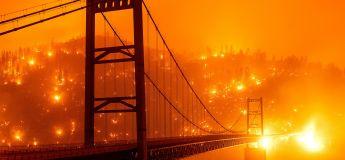 San Francisco et la Californie tombent dans l'obscurité à cause d'une épaisse fumée qui a recouvert le ciel