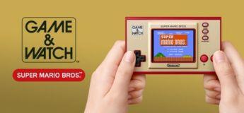 Pour le 35e anniversaire de Super Mario Bros Nintendo lance sa console portable Game & Watch : Super Mario Bros