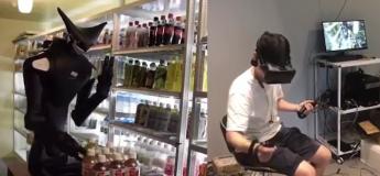 Fini la fatigue au taf : Un robot connecté à son casque VR pour disposer les produits dans les rayons à sa place
