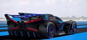 Bugatti dévoile «Bolide», l'engin démoniaque made in France