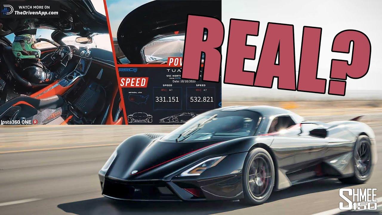 Et si le record de vitesse de la SSC Tuatara à 533 km/h était bidon ?