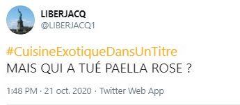 Les internautes se lâchent sur les rayons communautaires sur Twitter après le discours de Gérald Damarnin  #CuisineExotiqueDansUnTitre
