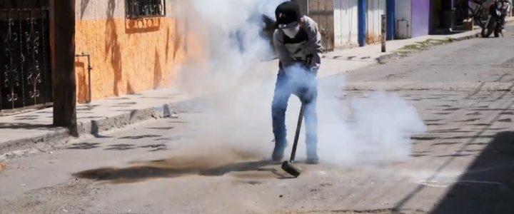 Un festival des marteaux explosifs se déroule chaque année dans une ville du Mexique