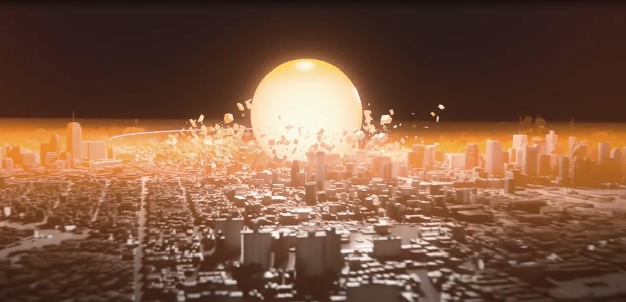 Voici ce qui se passerait si une bombe atomique explose dans une grande ville