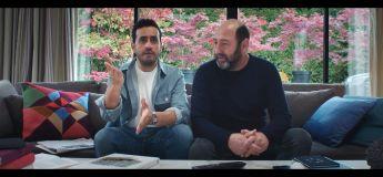 Kad Merad invite chez lui Jonathan Cohen pour regarder Canal+ sauf qu'il n'a pas les codes