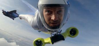 Voler autrement avec ce wingsuit motorisé imaginé par BMW