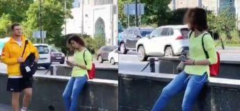 Un portefeuille tombe par terre, comment vont réagir les passants ?