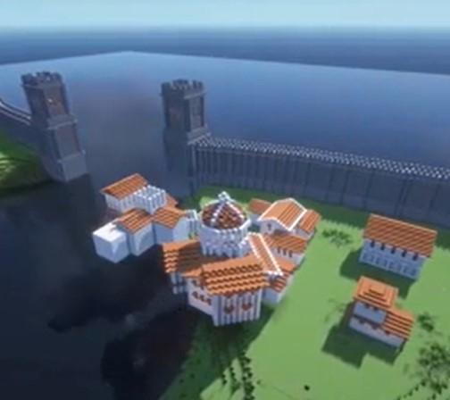 Il construit ville antique en Grèce dans Minecraft , le résultat est juste fascinant