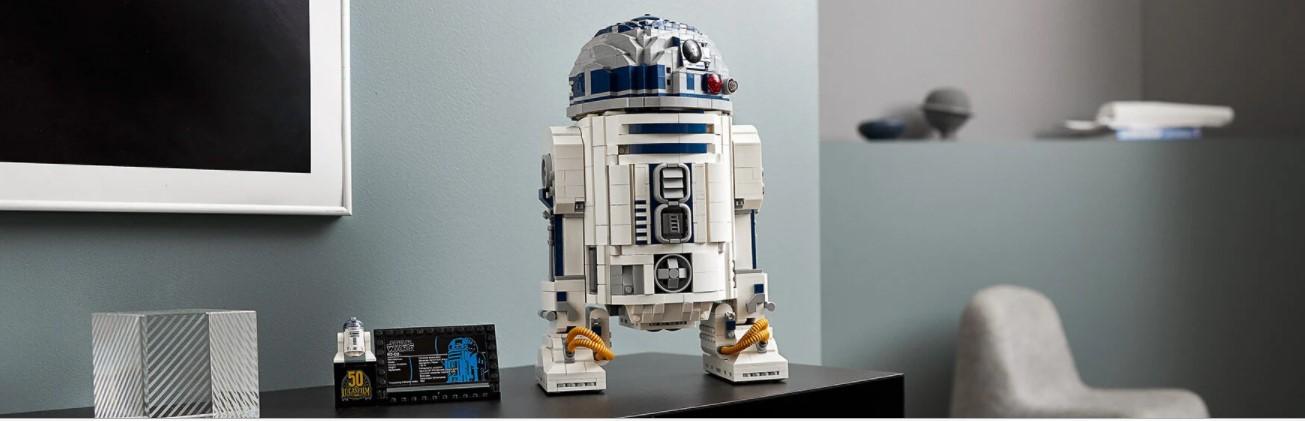 LEGO Star Wars R2-D2, construisez le droïde le plus adoré de la galaxie