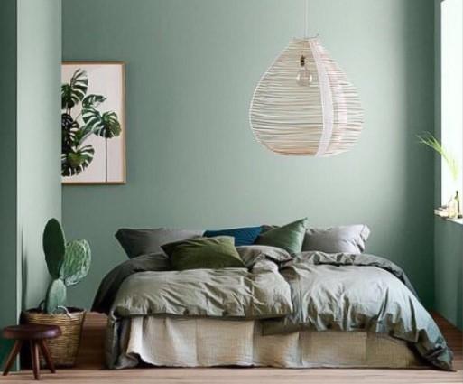 Pourquoi choisir le vert pour votre chambre à coucher ?